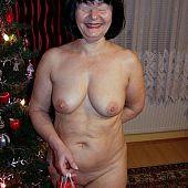 Older stockings amateur mature.
