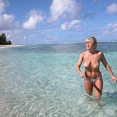 Amateur beach.