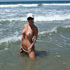 Amateur beach.