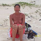 Wives on undressed beach portraits.