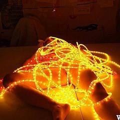 Amateur neon.