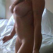 Pretty milf posing bikini.